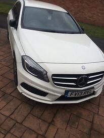 Mercedes a class a220 peal white auto