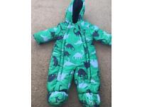 John Lewis 3-6 Months snow suit / pram suit