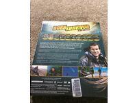 BORN SURVIVOR - BEAR GRYLLS (DEADLIEST ENCOUNTERS) - 10 DVD LTD EDITION . NEW AND SEALED