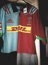 XL Harlequins Home replica Brand new with tags - was too small for me