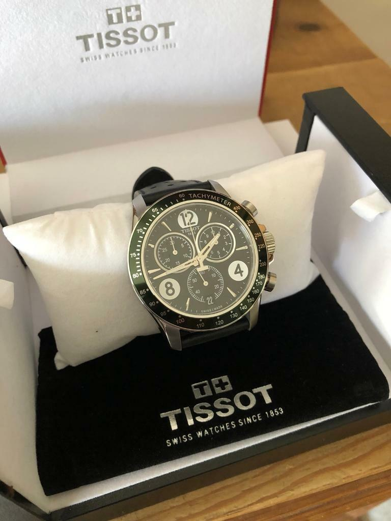 Tissot V8 Quartz Chronograph Men S Watch In Dunmow