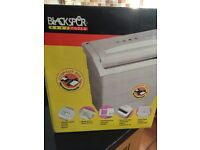 Blackspur electric paper shredder