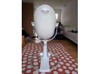 BLOOM FRESCO HIGH CHAIR -White & orange - baby & toddler - Great condition