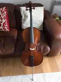 Cello 1/2 size Stentor Student 1