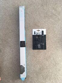 Brand new UV Parasol and Adaptor Black