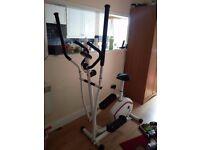 Exercise Machine - DAVINA 2 IN 1 Cross Trainer and Bike