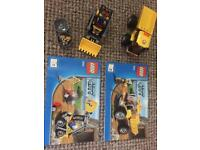 LEGO City; 4201 Digger and truck