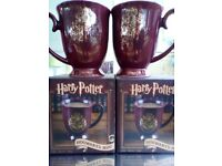 HARRY POTTER MUGS-Brand New in original boxes X2 Bargain £7
