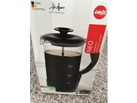 Cafetiere 8 cup EMSA NEO in black