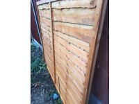 Fence panel. New 6x 5 ft