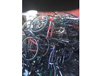 250 X mountain bikes flat packed men's and woman's