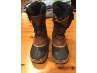 Sorel Mens Snow Boots Size 10.5