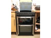 Double oven with electric grill