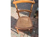 Beautiful little antique bedroom / dining chair