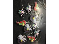 Pirate fairy string lights
