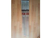 Kbs c-taper light iron shafts stiff flex 4-pw .355 taper tip