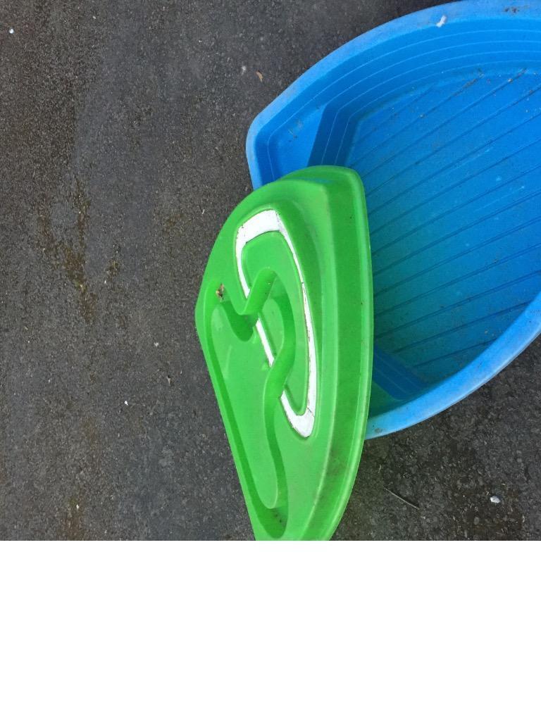 Sandpit tp boat sandpit paddling pool with lid in for Elc paddling pool
