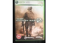 Call of Duty, Modern Warfare 2 Xbox one/ Xbox 360 game is backwards Compatible