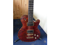 LAG Imperator Masterbuilt guitar; Custom Luthier made, like PRS, Gibson, Handbuilt,rare..TRADE?