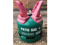Full Calor Gas 5kg Patio gas bottle (Propane) for BBQ or Patio Heater