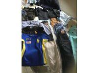 Boys designer clothes & shoes bundle