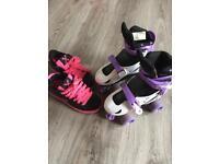 Heelys & Roller Skates, both for £10
