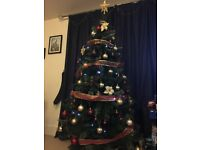 6ft Christmas Tree with FREE decorations