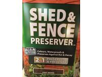 Ronseal Fence & Shed Preserver (x4)
