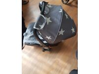 Very good condition. Includes changing bag carry cot and carseat.