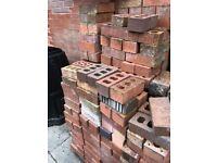 New unused bricks - weathered