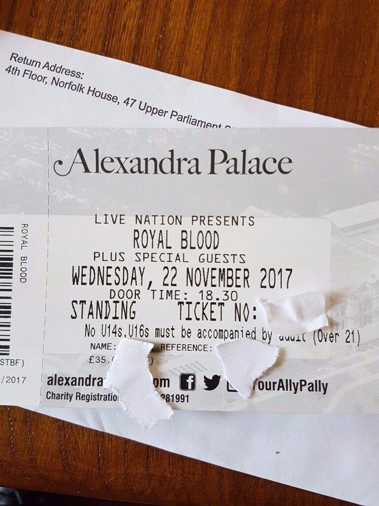 ROYAL BLOOD - ALLY PALLY - 22 NOV 2017
