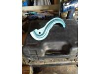 """Woodturning """"S"""" Curved Tool Rest. May Post."""