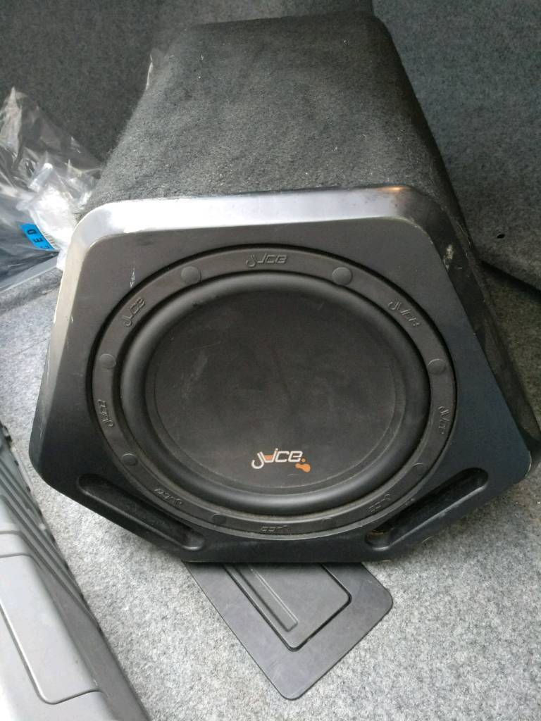 Juice a12 1200w subwoofer with built in amp