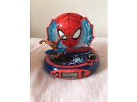SPIDER-MAN ALARM CLOCK & RADIO