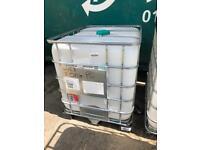Clean IBC Water Tanks