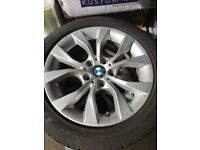 BMW Alloy Winter wheels and tyres - E84 X1 xDrive20d