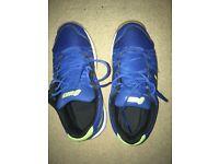 Size 4 asics badminton shoes
