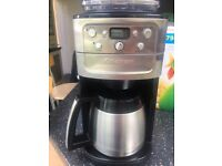 Filter Coffee Machine - Cuisinart Grind and Brew - nearly new