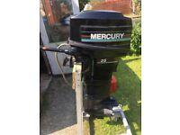 Mercury 25 hp outboard