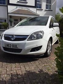 2012 Vauxhall Zafira 7 seater, 62k miles*£4,950*