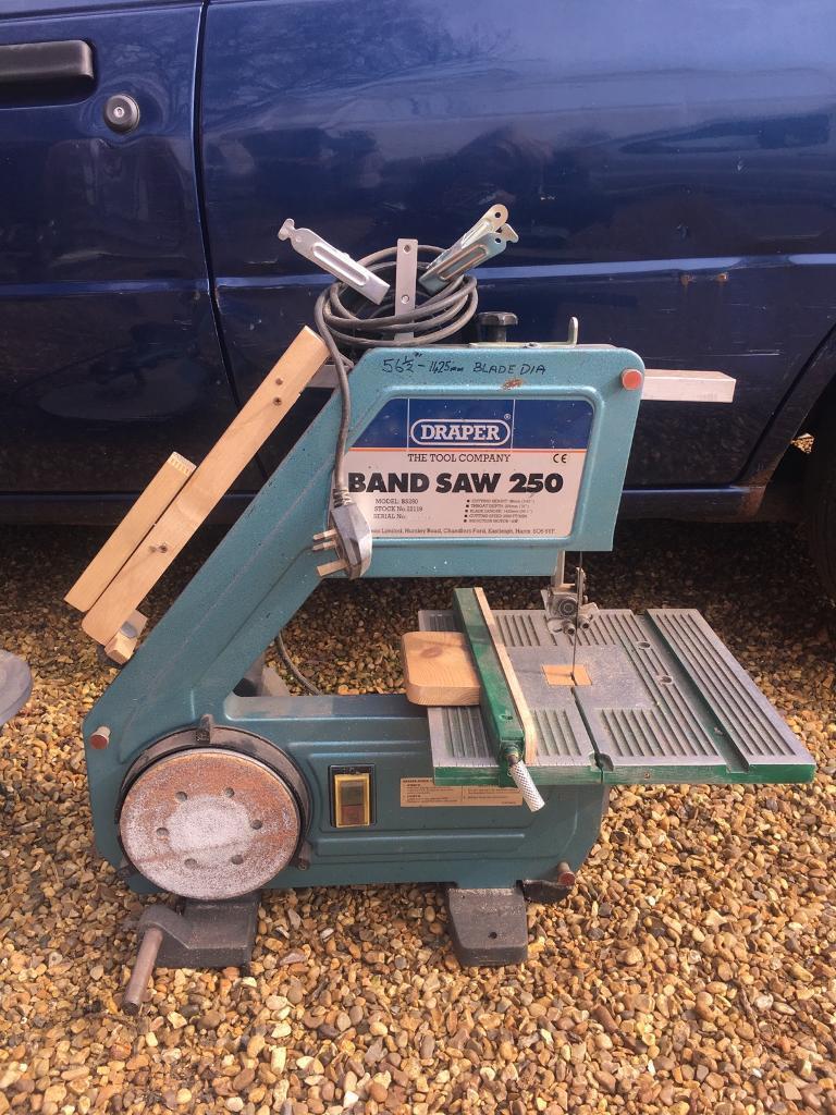 Draper Band Saw 250 In Brundall Norfolk Gumtree