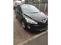 peugeot 308 2008 comes with full service histoty, drives perfect in good condition