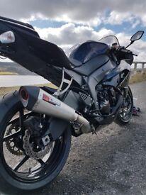 Kawasaki zx6r ninja 2009