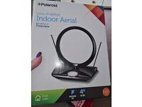 Polariod loop indoor TV aerial