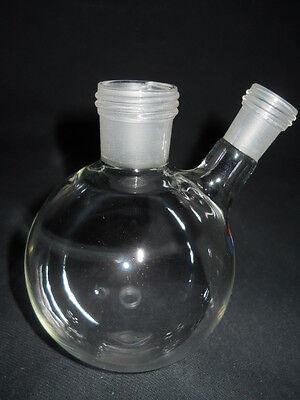 Radleys Glass 2-neck Rodaviss 250ml Reaction Flask With B1423 Sidearm Rr99047