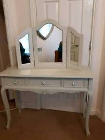 Fabulous Three Drawer Dressing Table Brand New
