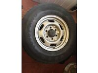 Ford Ranger Steel Wheels x 4