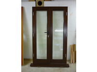 Hardwood French Doors. High Specification. Multipoint Locking.