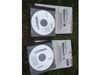 Windows 98 disc, book & key