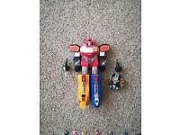 Selection of original Power Rangers toys